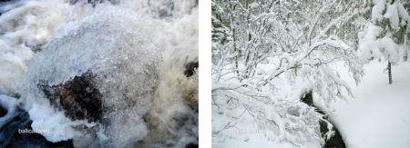 Ballicattered and Devil's Blanket, Blast Hole Pond River, Newfoundland, Winter 2012-2013