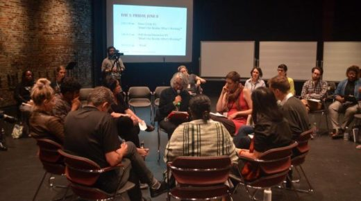 The Birth of a Climate Commons for Theatre and Performance