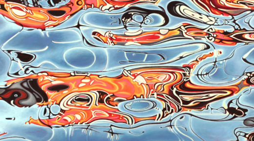 ARTIST COMPLETING HER 20-YEAR QUEST TO PAINT ALL THE WORLD'S OCEANS