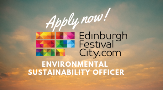 Opportunity: Environmental Sustainability Officer at Festivals Edinburgh