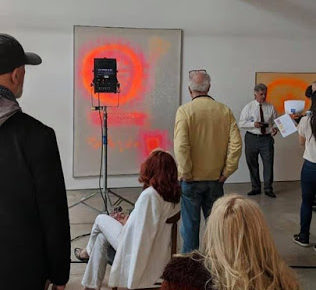 Black Light Talk and Tour of Bowman exhibition on April 20th