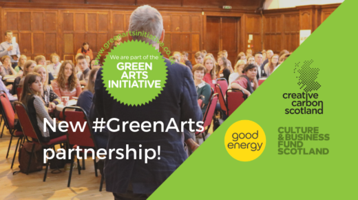 Good Energy partnership to help Scottish cultural sector 'go green'