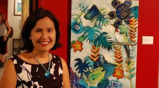 Painter Michelle Irizarry Allows Her Art to Evolve with Her Growing Understanding of Climate Change