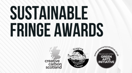 Venues and Companies Invited to Apply to Sustainable Fringe Awards 2019