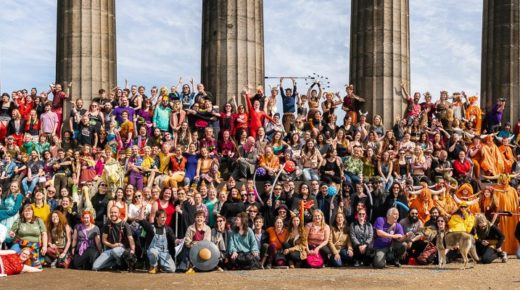 Beltane Fire Society receives funding to explore a 'Green' Fire Festival
