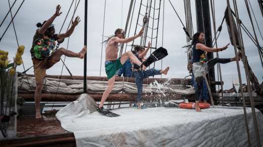 Acting for Climate Goes Into the Water