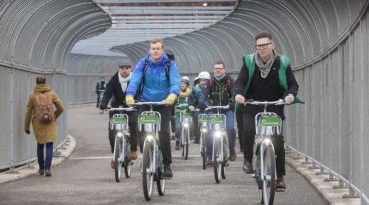 Using Glasgow's e-bikes to help the city achieve net zero