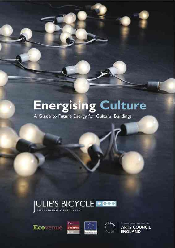 Energising Culture guide cover